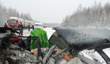 A six-year-old boy survived two road accidents on the same day