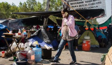 After 11 days peasants retire seeding in San Lázaro