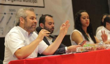 Alfredo Ramírez participates in Regional Forum in Zamora