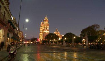 Announce the start of the Obra Madero Poniente in Morelia