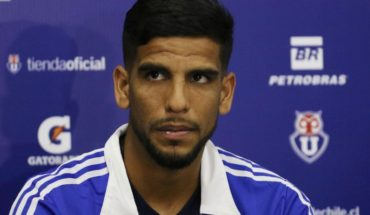 Augusto Barrios returned to U training after serious injury