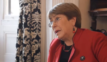 "Bachelet and situation in Chile: ""My previous judgment is that protocols are not being followed"""
