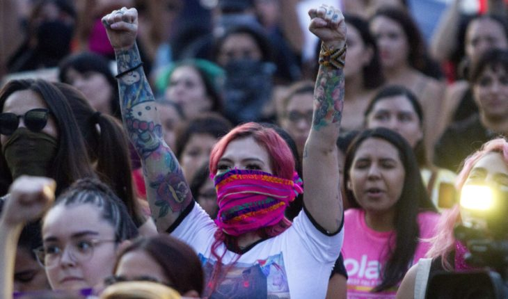 CDMX enlists operational by feminist march; women ask for no cops
