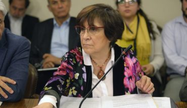 Carmen Hertz (PC) held President Piñera accounted for after HRW report that reported dD violations. Hh. by Carabineros