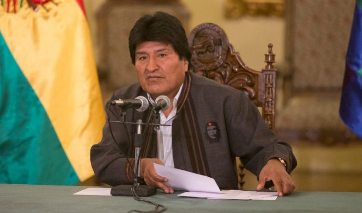 """Evo Morales said they arrested """"without evidence"""" their party's vice president"""