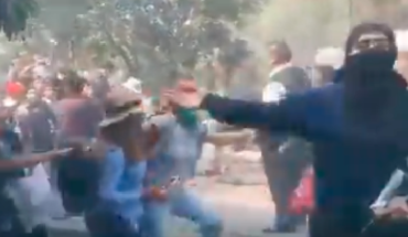 Feminists from UNAM's Faculty of Engineering for vandalizing facilities (Video)