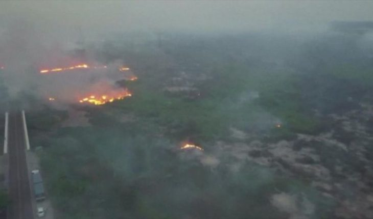 """Fires of """"never-before-recorded proportions"""" hit Brazil"""