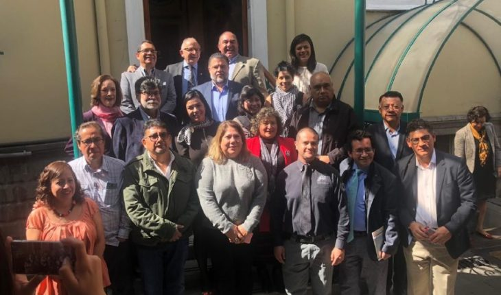 Government of Morelia Presents management strategies at World Heritage Managers' Meeting
