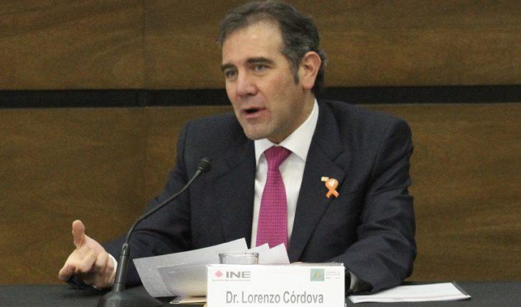 Lorenzo Córdova warns of attempt to subordinate the INE