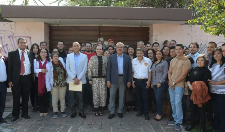 Morelia government agrees with SEMACM to improve the salary of municipal employees
