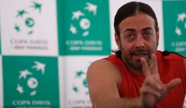 """Nicolás Massú: """"It will be difficult, but we have a chance to pass"""""""