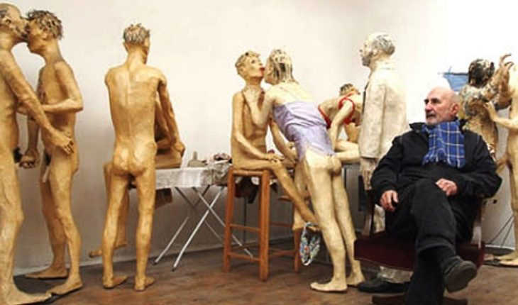 Outstanding visual artist and national sculptor Juan Pablo Langlois Vicuña die