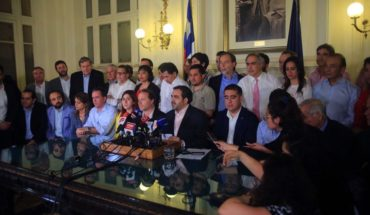 Parties reached historic agreement: mechanism for new Constitution will be defined by plebiscite
