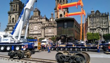 'Petra' is already in the Zocalo for the November 20 parade