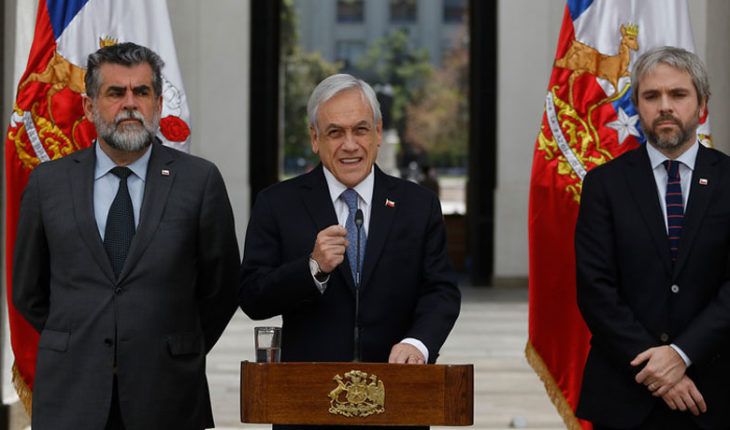 """Piñera said """"the government is doing its job"""" and acknowledged that law enforcement """"faces difficulties"""""""