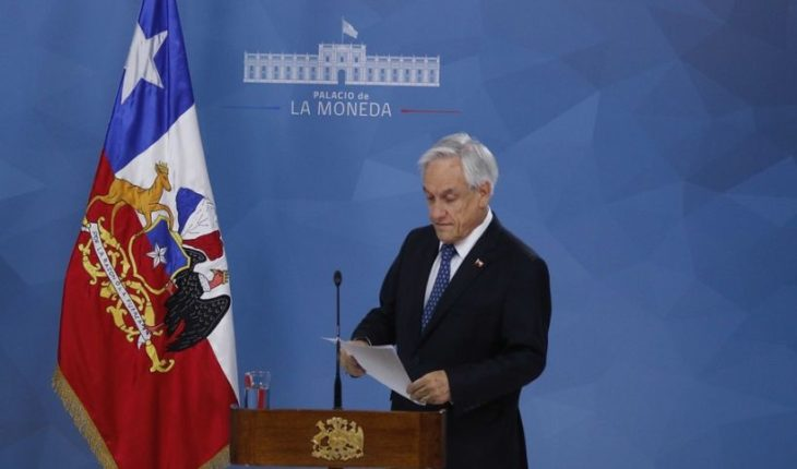 President Piñera announced reinforcement of police officers with retired personnel and called for peace, justice and the new Constitution
