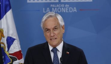 """Sebastián Piñera: """"The social pact under which we had lived was broken"""""""