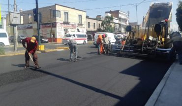 The Government of Morelia announces the re-enfolderment on Madero Avenue, between Journalismo and Calzada La Huerta