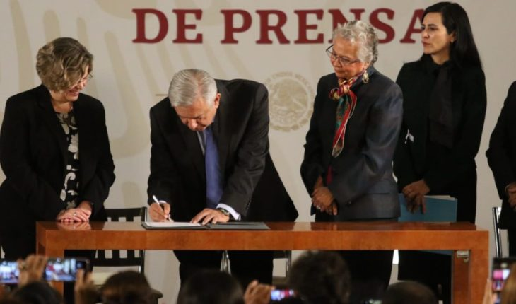 The six points of the equality agreement signed by AMLO