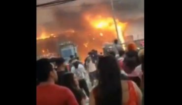 They burn and ransack premises of Mall Arauco Quilicura