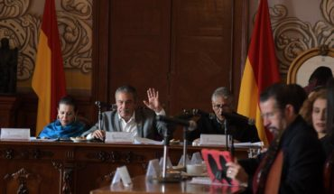 They report that the Moreliano Cabildo approved property donation for the National Guard