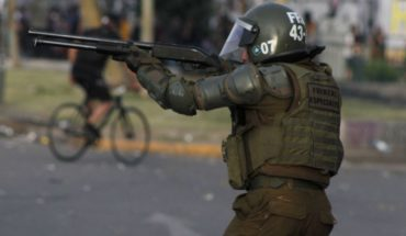 They reveal that pellets fired by Carabineros contain lead