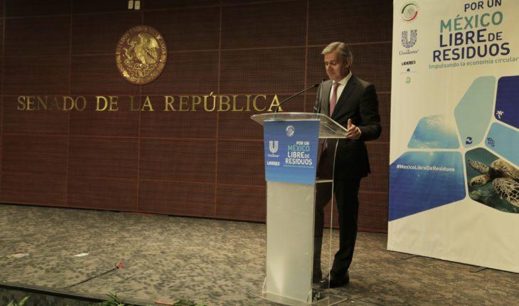 Unilever in Mexico promotes circular plastic economy