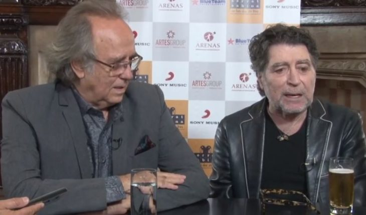 """[VIDEO] Joaquín Sabina: """"Let Chile take the army out on the street at the first change, it terrifies me"""""""