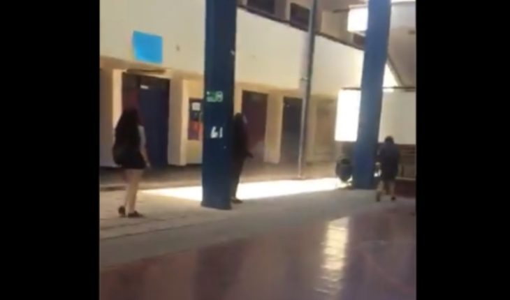 [VIDEO] Two students from Lyceum 7 were injured with pellets