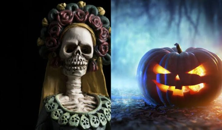 Why is 'Day of the Dead' celebrated almost the same Halloween day?