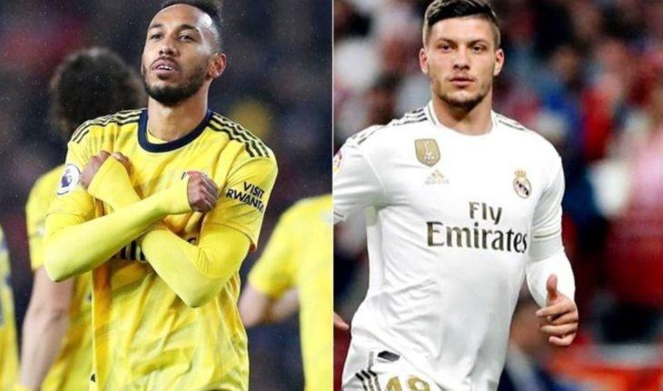 Arsenal pide a Jovic en plan de trueque por Aubameyang al Real Madrid