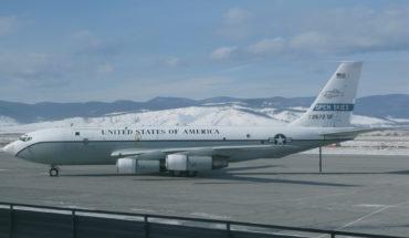 Un avión OC-135B en Ulan-Ude (Rusia) usado en los vuelos de inspección por la Fuerza Aérea de EEUUU de conformidad con el Tratado de Cielos Abiertos (cooperación militar). Foto: DTRA photo (Wikimedia Commons / Dominio público). Blog Elcano