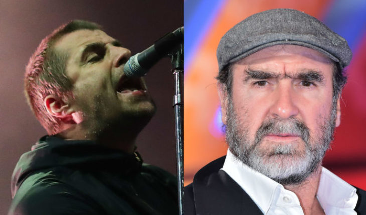 Eric Cantona, ex futbolista, sorprende cantando canción de Liam Gallagher