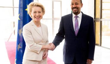 Ursula von der Leyen, presidenta de la Comisión Europea, y Abiy Ahmed, presidente de Etiopía. Foto: Etienne Ansotte / ©European Union, 2019. EC – Audiovisual Service. Blog Elcano