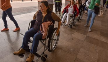 1 in 2 people with disabilities see that they do not respect their rights