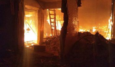 CDMX's La Merced market is on fire