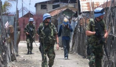 Chilean military in Haiti reported that girls and women would have been raped and pregnant