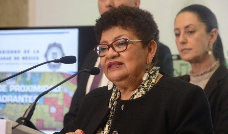 Endorsement of Ernestina Godoy as CDMX Prosecutor