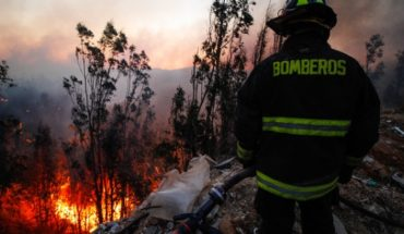 """Esval ends """"solidarity cut"""" to supply firefighters in fire-affected communes"""