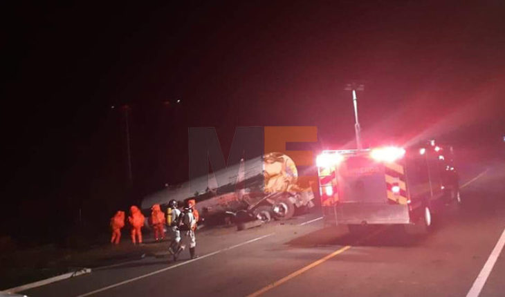 Five people go dead from ammonia poisoning after pipe overturning