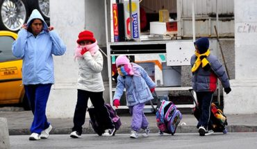 For cold, SEE travels half an hour into schools