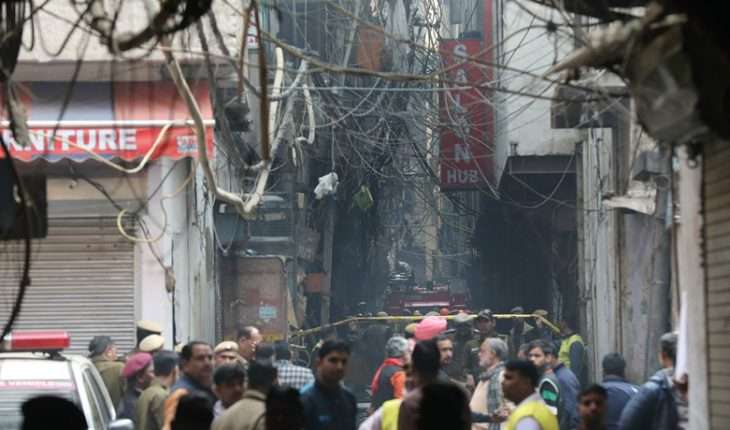 Impact in India: fire in a factory left 43 people dead