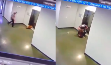 Man Saved the Life of a Puppy in an Elevator in Texas (Video)