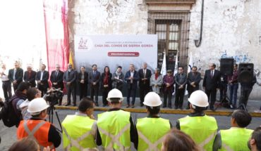 Morelia City Council begins restoration of historic building at the service of the P/E