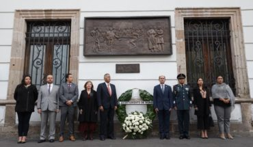 Morelia City Council commemorates the CCX Anniversary of the Valladolid Conspiracy