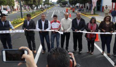 Morelia City Council opens recovery of Avenida Madero Poniente