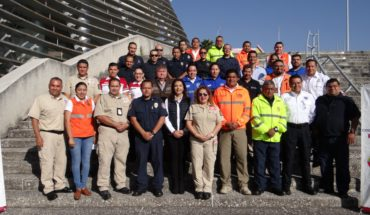 Morelia seeks to certify Civil Protection personnel with USAID