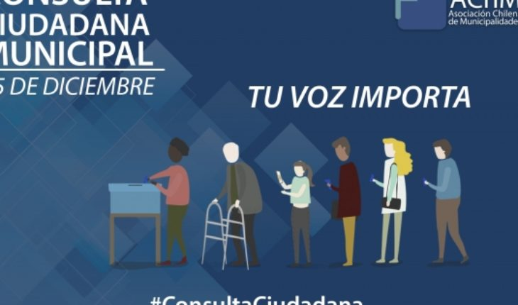 Municipalities detail historical Citizen consultation scheduled for December 15
