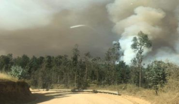 Onemi declared Red Alert for Wallons commune for wildfire