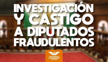 Political Trial against Fraudulent Deputies of Michoacán: Citizen Movement